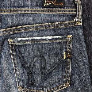 Citizens of Humanity Ava Straight Jeans Size 25
